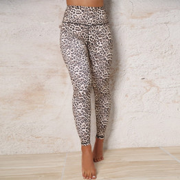 Sexy High Waist Leopard Leggings Women's Sportswear Fitness Clothing Activewear Yoga Available Sizes S-L